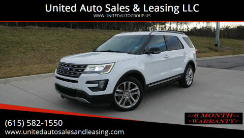 2016 Ford Explorer for sale at United Auto Sales & Leasing LLC in La Vergne TN