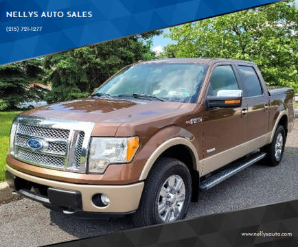 2011 Ford F-150 for sale at NELLYS AUTO SALES in Souderton PA