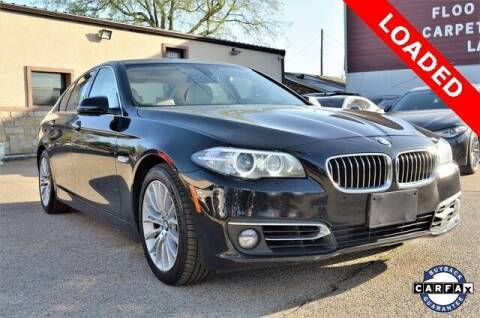 2015 BMW 5 Series for sale at LAKESIDE MOTORS, INC. in Sachse TX