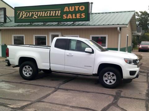 2017 Chevrolet Colorado for sale at Borgmann Auto Sales in Norfolk NE