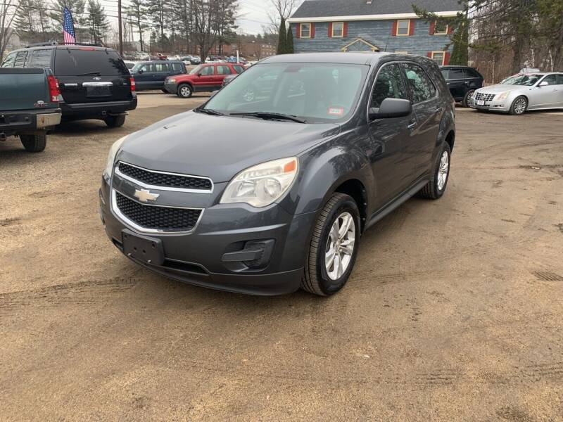 2011 Chevrolet Equinox for sale at Winner's Circle Auto Sales in Tilton NH