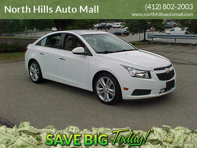 2011 Chevrolet Cruze for sale at North Hills Auto Mall in Pittsburgh PA