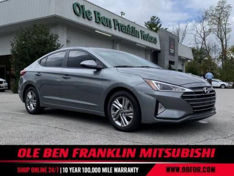 2019 Hyundai Elantra for sale at Ole Ben Franklin Mitsbishi in Oak Ridge TN