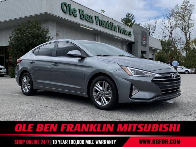 2019 Hyundai Elantra for sale at Ole Ben Franklin Mitsbishi in Oak Ridge TN