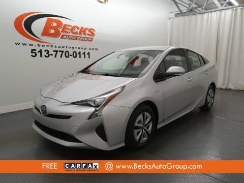 2018 Toyota Prius for sale at Becks Auto Group in Mason OH