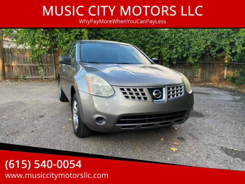 2008 Nissan Rogue for sale at MUSIC CITY MOTORS LLC in Nashville TN