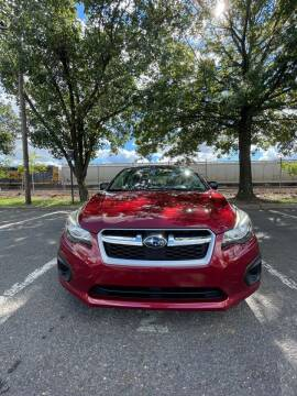 2014 Subaru Impreza for sale at Bluesky Auto in Bound Brook NJ