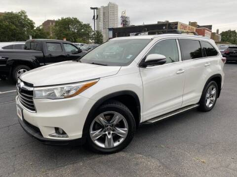 2016 Toyota Highlander for sale at Sonias Auto Sales in Worcester MA