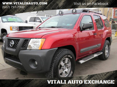 2012 Nissan Xterra for sale at VITALI AUTO EXCHANGE in Johnson City NY