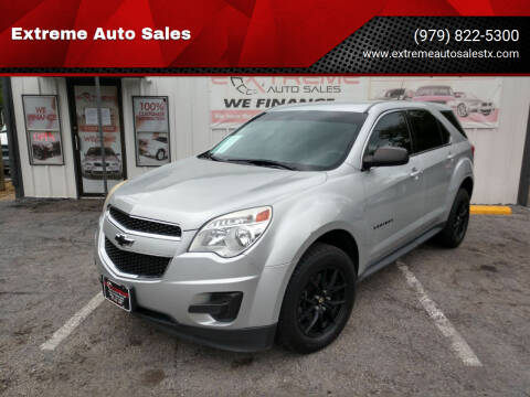 2011 Chevrolet Equinox for sale at Extreme Auto Sales in Bryan TX