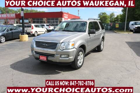 2008 Ford Explorer for sale at Your Choice Autos - Waukegan in Waukegan IL