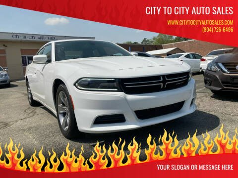 2015 Dodge Charger for sale at City to City Auto Sales in Richmond VA