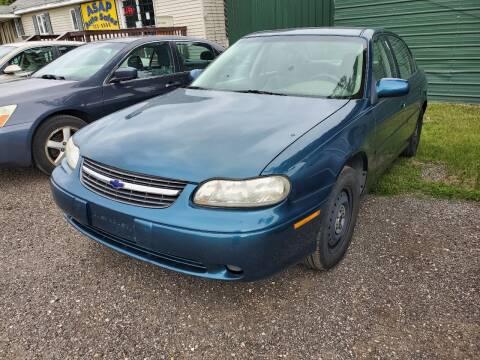 2003 Chevrolet Malibu for sale at ASAP AUTO SALES in Muskegon MI