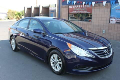 2014 Hyundai Sonata for sale at NV Cars 4 Less, Inc. in Las Vegas NV