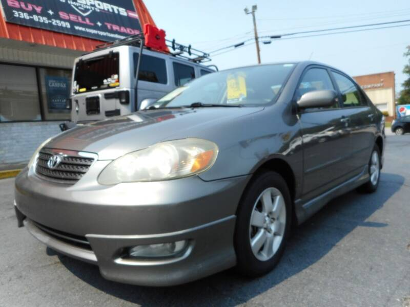 2006 Toyota Corolla for sale at Super Sports & Imports in Jonesville NC