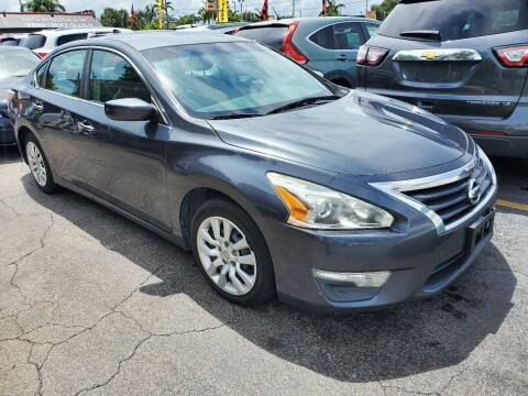 2013 Nissan Altima for sale at America Auto Wholesale Inc in Miami FL