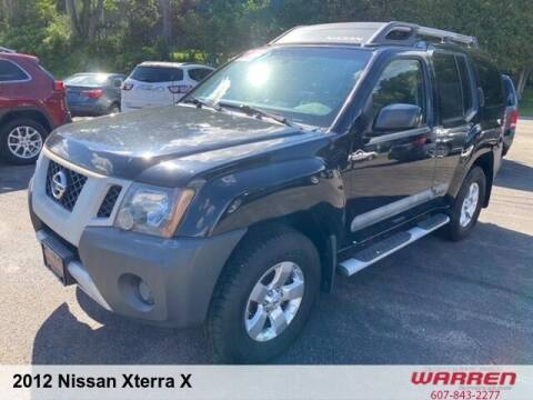 2012 Nissan Xterra for sale at Warren Auto Sales in Oxford NY