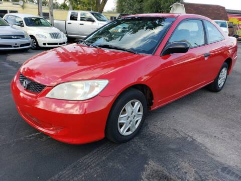 2005 Honda Civic for sale at Nonstop Motors in Indianapolis IN
