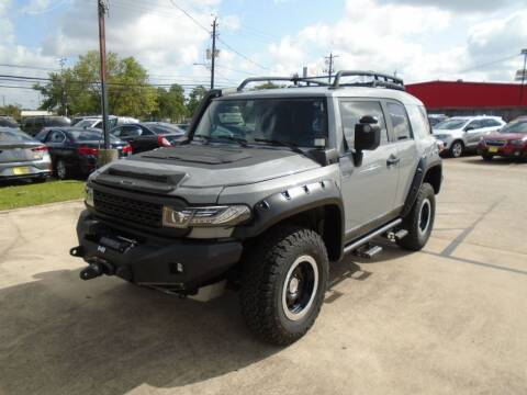 2013 Toyota FJ Cruiser for sale at BAS MOTORS in Houston TX
