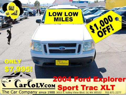 2004 Ford Explorer Sport Trac for sale at The Car Company in Las Vegas NV