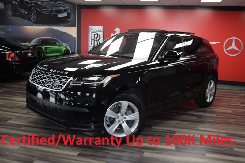 2018 Land Rover Range Rover Velar for sale at Icon Exotics in Houston TX
