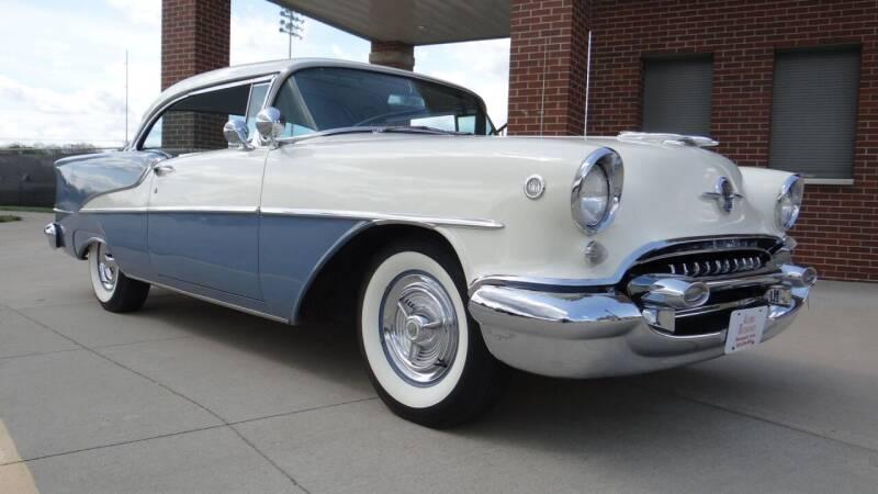 1955 Oldsmobile Super 88 for sale at Klemme Klassic Kars in Davenport IA