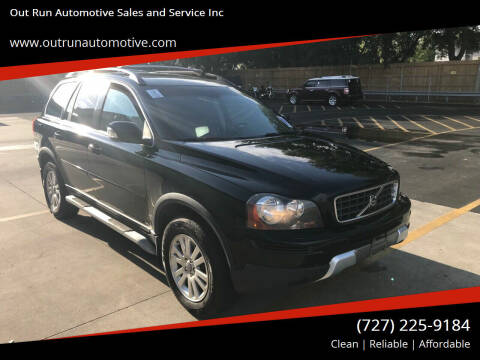 2008 Volvo XC90 for sale at Out Run Automotive Sales and Service Inc in Tampa FL