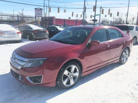 2010 Ford Fusion for sale at SKYLINE AUTO in Detroit MI