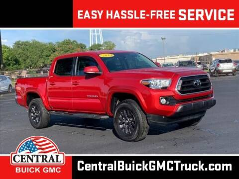 2020 Toyota Tacoma for sale at Central Buick GMC in Winter Haven FL