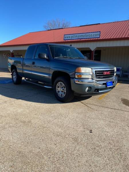 2007 GMC Sierra 1500 Classic for sale at PITTMAN MOTOR CO in Lindale TX