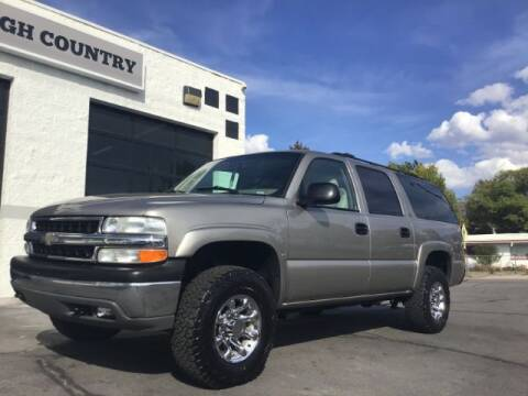 2001 Chevrolet Suburban for sale at High Country Motor Co in Lindon UT