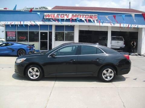 2014 Chevrolet Malibu for sale at Wilson Motors in Junction City KS