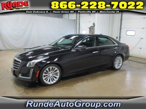 2016 Cadillac CTS for sale at Runde Chevrolet in East Dubuque IL