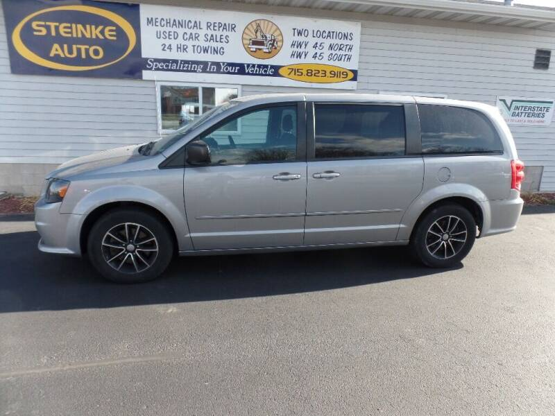 2015 Dodge Grand Caravan for sale at STEINKE AUTO INC. - Steinke Auto Inc (South) in Clintonville WI