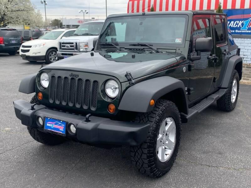 2012 Jeep Wrangler Unlimited for sale at Mack 1 Motors in Fredericksburg VA