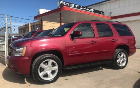 2007 Chevrolet Tahoe for sale at FAST LANE AUTO SALES in San Antonio TX