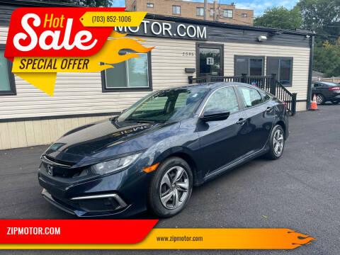 2019 Honda Civic for sale at ZIPMOTOR.COM in Arlington VA