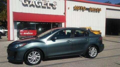 2012 Mazda MAZDA3 for sale at Gagel's Auto Sales in Gibsonton FL