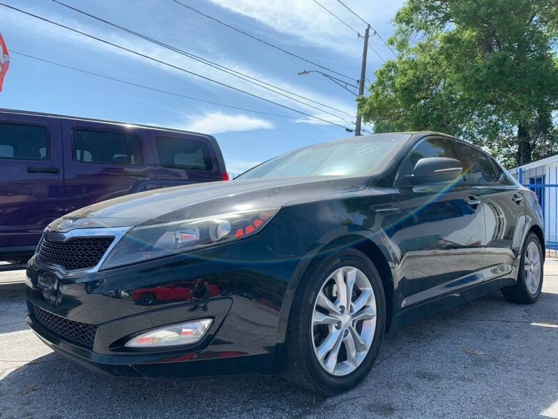 2012 Kia Optima for sale at Always Approved Autos in Tampa FL