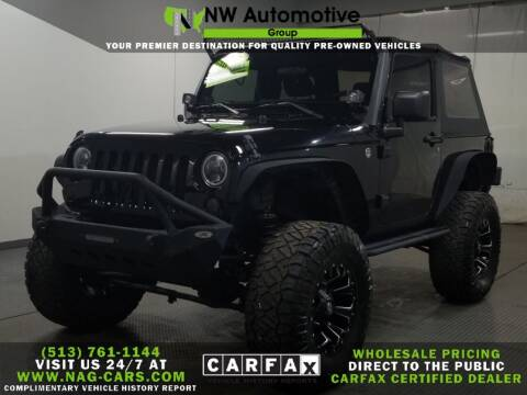 2012 Jeep Wrangler for sale at NW Automotive Group in Cincinnati OH