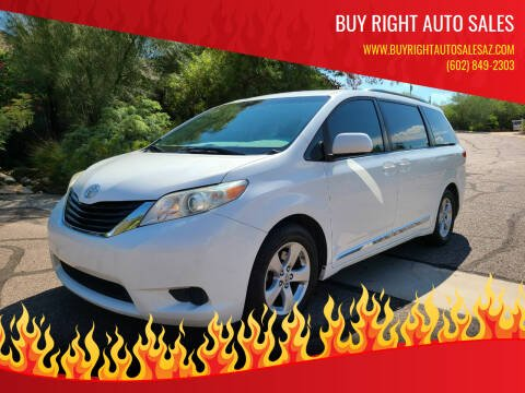 2011 Toyota Sienna for sale at BUY RIGHT AUTO SALES in Phoenix AZ