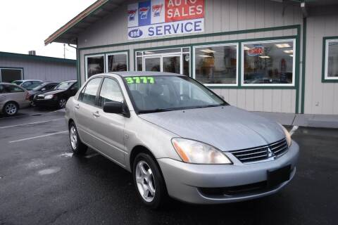 2006 Mitsubishi Lancer for sale at 777 Auto Sales and Service in Tacoma WA