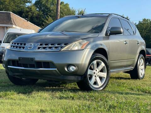 2007 Nissan Murano for sale at Texas Select Autos LLC in Mckinney TX