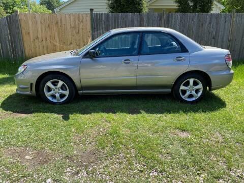 2006 Subaru Impreza for sale at ALL Motor Cars LTD in Tillson NY