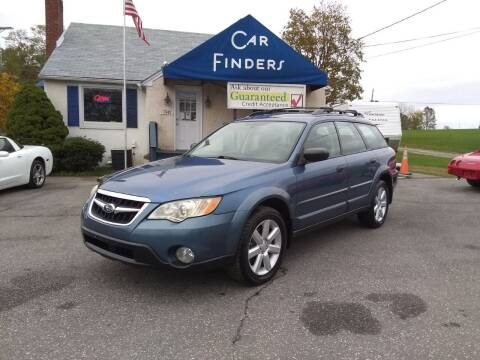 2008 Subaru Outback for sale at CAR FINDERS OF MARYLAND LLC in Eldersburg MD