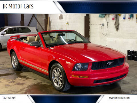2005 Ford Mustang for sale at JK Motor Cars in Pittsburgh PA