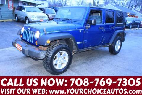 2009 Jeep Wrangler Unlimited for sale at Your Choice Autos in Posen IL