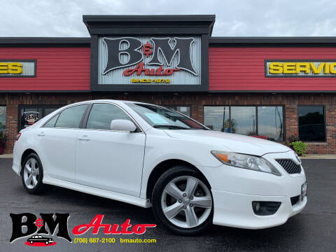 2011 Toyota Camry for sale at B & M Auto Sales Inc. in Oak Forest IL