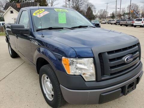 2012 Ford F-150 for sale at Kachar's Used Cars Inc in Monroe MI
