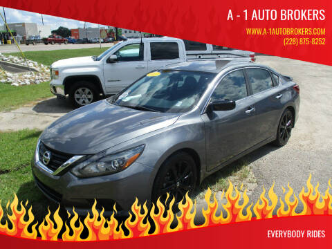 2017 Nissan Altima for sale at A - 1 Auto Brokers in Ocean Springs MS